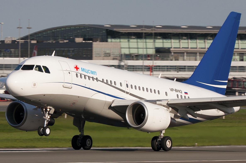 Медицинская авиация в Санкт-Петербурге